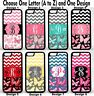 For iPhone 6s Plus Butterfly Chevron Group 1 Personalized Monogram Phone Case