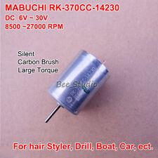 MABUCHI RK-370CC-14230 DC6V-32V 12V Kohlebürstenmotor for Hair Styler DIY Parts