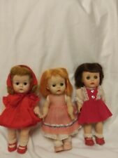 """Vintage~ (3) Dolls 10"""" Tall R & B and Other, Littlest Angel"""