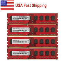 US 32GB (4x8GB) DDR3-1600 PC3-12800 240 PIN DIMM RAM For AMD AM3 AM3+ Socket MB