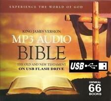 King James Audio Bible (66 Books) Old & New Testament on USB for your Car.