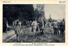 Von den großen Jagden in Lana Böhmen Prinz Ratibor Graf Salm Fürst Auersperg1905