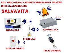 TELEALLARME SALVAVITA PER ANZIANI TELESALVALAVITA TELESOCCORSO PER DISABILI