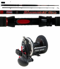 Penn Carbon Fibre All Saltwater Fishing Rods 2 Pieces