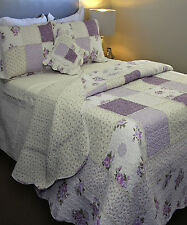 Ameline Bedspread Set by Fuerda | Handmade | 100% Cotton | 6 Piece | Queen