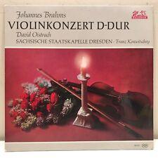 Konwitschny Brahms Violin Concerto D major David Oistrach Helidor 89607 Germany