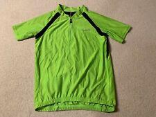 Muddy Fox men's MTB cycling jersey in green/black - small size