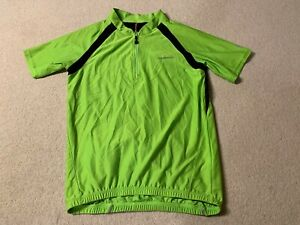 Muddy Fox men's MTB cycling jersey in green/black - small size