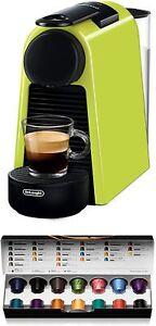 Nespresso de' Longhi Essenza Mini EN85.L - Coffee Maker Pods Of Capsules 19 Bare