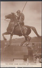 Scotland Postcard - The Border Raider, Galashiels War Memorial   MB2059