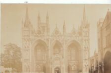 Cambridgeshire Postcard - Peterborough Cathedral - West Front   A9433