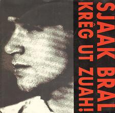 """SJAAK BRAL – Krêg Ut Zuah! (1992 VINYL SINGLE 7"""")"""