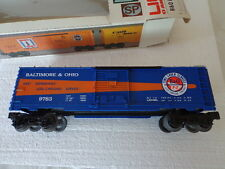 """O"" 0-27 LIONEL ROLLING STOCK B&O BOX CAR BALTIMORE&OHIO 9783 TIME SAVER SERVICE"