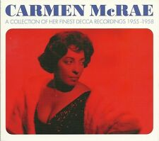 CARMEN McRAE A COLLECTION OF HER FINEST DECCA RECORDINGS 1955 - 1958 - 3 CD SET