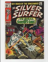 Silver Surfer #9 Glossy vivid cover high grade Marvel comic
