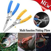 Tool Hook Removers Stainless Steel Scissor Fishing Pliers Bait Line  Cutter Y