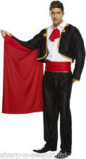 Para Hombre Adulto Español Mexicano Torero Matador Circo Fancy Dress Costume Outfit