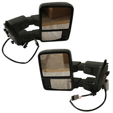 FOR  Ford F250-F550 Super Duty Towing Upgrade Mirrors Power Heated Turn Signal