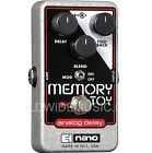 EHX Electro Harmonix MEMORY TOY Analog Delay With Modulation Guitar FX Pedal  for sale