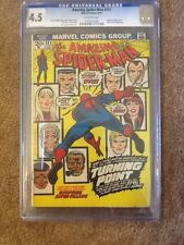 The Amazing Spider-Man #121 (Jun 1973, Marvel) CGC 4.5