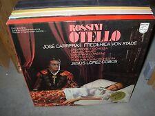COBOS / CARRERAS / ROSSINI otello ( classical ) box philips holland