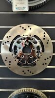 "REV TECH CHROME FINISH FLOATING 11.5"" FRONT BRAKE ROTOR FITS PRE 2000 HARLEY"