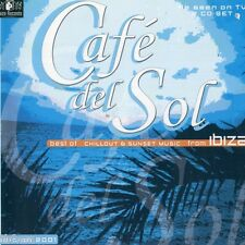 Cafe Del Sol 2001 EDITION - CD - BEST OF - CHILL OUT LOUNGE DOWNTEMPO