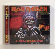 IRON MAIDEN - A REAL DEAD ONE (CD) US - CASTLE RECORDS (113-2) 1993/1995