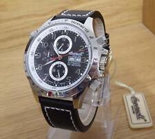 Para Hombre Edición Limitada Ingersoll Ottawa Negro 316L Reloj Automático De Acero IN1619BK