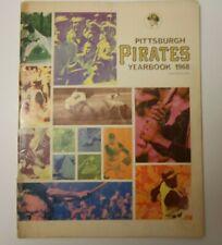1968 PITTSBURGH PIRATES OFFICIAL YEARBOOK MLB BASEBALL PROGRAM RARE