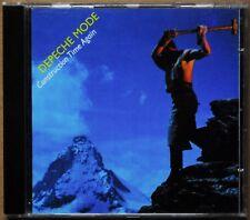 ALBUM CD DEPECHE MODE - CONSTRUCTION TIME AGAIN - MUTE - 1989 - TRES BON ETAT
