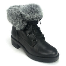 Clarks Ladies Winter Ankle Boots REUNITE UP GTX Black Leather UK 4 / 37