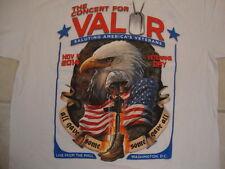 The concert For Valor American Veterans 2014 Washington D.C. DC T Shirt L