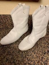Vintage Marjorette White Boots Size 81/2