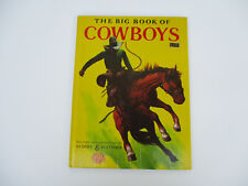 Cowboys Horses Riding Cattle Ranching Educational Young Adult YA Vintage 1950