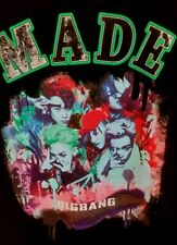 "Big Bang ""MADE"" KPOP Tee shirt by YG Presents, Size Womens L."