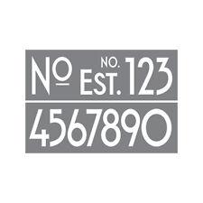 "Americana Decor Stencils - Art Deco Numbers (6""x18"") Decorating/Interior design)"