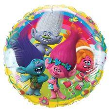 Trolls Birthday Balloon 18 Inch Foil Party Kids New Free Ship