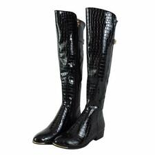 Animal Print Zip Casual Synthetic Boots for Women