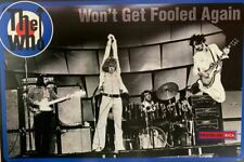 The Who Won't Get Fooled Again Band Shot Poster 24 X 36