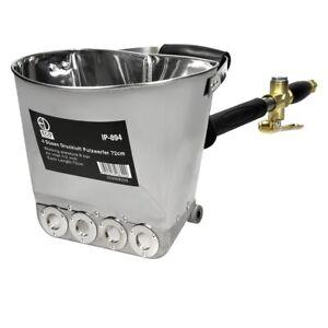 """Pulvérisateur mortier ciment machine projecteur enduit sablon crépir 1/2"""" 4 jets"""