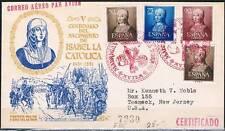 1951.-  MADRIGAL DE LAS ALTAS TORRES (ÁVILA) A U.S.A.