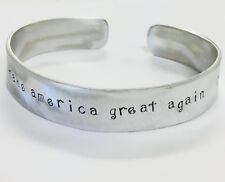 Make America Great Again, Men's Bracelet, Donald Trump Republican FREE SHIPPING