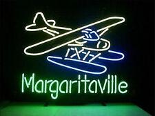 "New Jimmy Buffett Margaritaville Paradise Plane Neon Sign 24""x20"""