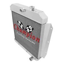 "Champion Radiator, 2 Row, Shroud w/ 16"" Fan 55-59 GM Truck"