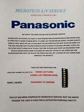 PANASONIC TX-L50EM6B V500H1-LS5-TLEM4 V500H1-LS5-TREM4 10 PIECE EDGE LED KIT