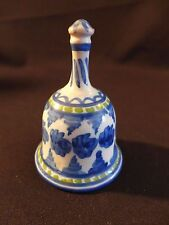 Vintage Pottery Bell - Figas Spain Pottery Bell , signed, numbered