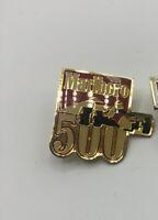 Indianapolis Indy CART Marlboro 500 Race Event Collectible Logo Pin