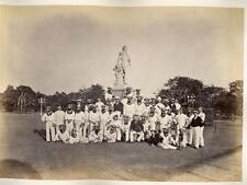 India - Petty officers of the H.M.S. Serapis at Calcutta 1875-76 Westfield & Co