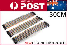 120pcs 300mm Dupont Breadboard Jumper Cable Hookup Wire 30cm 120pieces